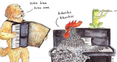 Wie werden Tierlauten in verschiedenen Sprachen ausgesprochen?