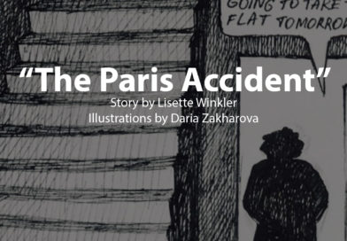 Our first illustrated story created during the workshop Picturing Encounters