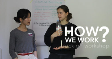 A report about our kick-off workshop